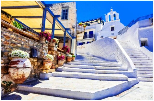 Naxos is a popular destination for tourists