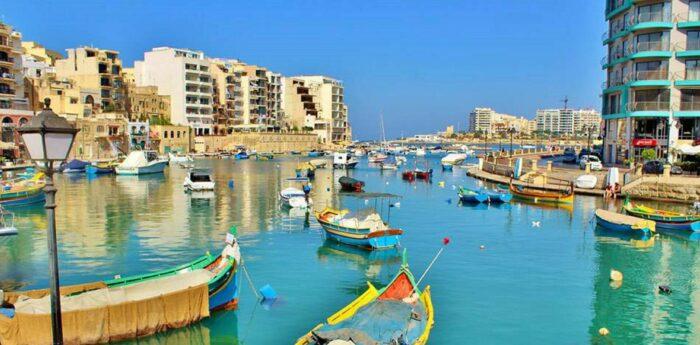St Julians in Malta